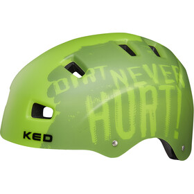 KED 5Forty Kask rowerowy Dzieci, dirt green